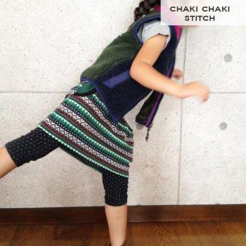 山ガールスカート | 子供服型紙