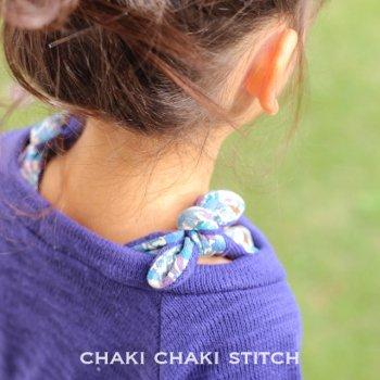 オフショルリボン | 子供服型紙