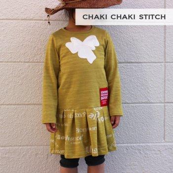 タックワンピ | 子供服型紙