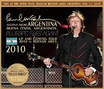 Paul McCartney(ポール・マッカートニー)/SECOND NIGHT ARGENTINA 2010 【2CD+DVD】
