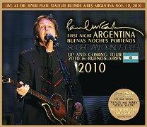 Paul McCartney(ポール・マッカートニー)/FIRST NIGHT ARGENTINA 2010 【2CD+DVD】