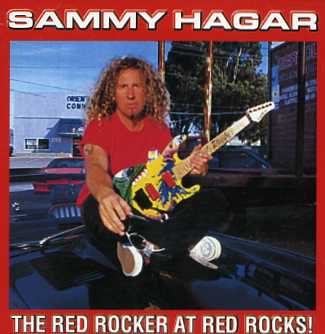 Sammy Hager(サミー・ヘイガー)/THE RED ROCKER AT RED ROCKS!【2CD】