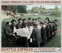 George Harrison(ジョージ・ハリスン)/SEATTLE EXPRESS 1974 【2CD+TOUR PROGRAM】