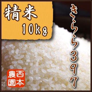 精米【10kg】 2019年産きらら397 3ヶ月コース(まとめ払い)