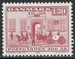 郵便配達 デンマーク'80