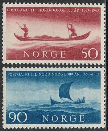 郵便配達2種 ノルウェー'63