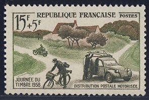 郵便配達 フランス'58
