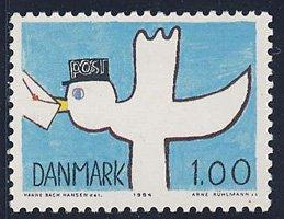 ハトの郵便配達 デンマーク'84