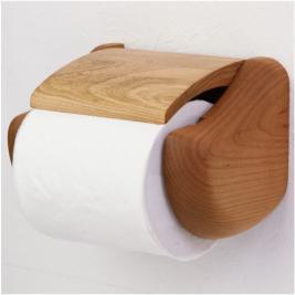 木製トイレットペーパーホルダー 蒼 HW-R-CHR