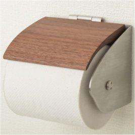 木製&ステンレス製トイレットペーパーホルダー SSA-TPH-BW-R