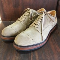 Makers work out blucher スエード