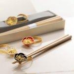 開業20周年記念【八角箸と箸置きセット】