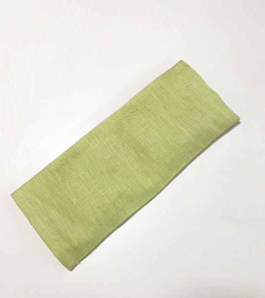 【よもごこち】温熱パット eye pillow * きみどり麻布カバー
