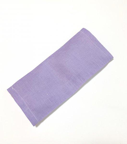 【よもごこち】温熱パット eye pillow * むらさき麻布カバー