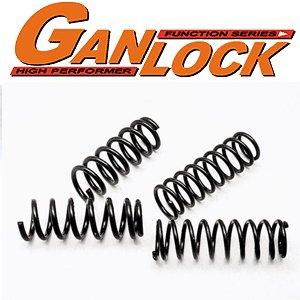 GANLOCKコイルスプリング・2インチアップ・前後セット・ジムニー(JA12・22)