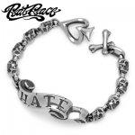 Rat Race / ラットレース MESSAGE ON RIBBON BRACELET SHORT HATE / メッセージオンリボンブレスレット ショート ヘイト RMB-1S-HATE 左手用