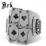 Ark silver accessories / アークシルバーアクセサリーズ 4カードリング