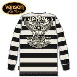 新作 VANSON / バンソン フライングスター サーマル長袖Tシャツ NVLT-911