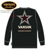 新作先行予約 VANSON / バンソン ワンスター 天竺長袖Tシャツ NVLT-919