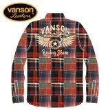 新作 VANSON / バンソン フライングスター ヘビーネルチェックシャツ NVSL-908