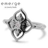 emerge / エマージュ スモールグローリーリング キュービックジルコニア