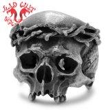 MAD CULT / マッドカルト Jesus Skull Head � / ジーザススカルヘッド 1 リング R-60