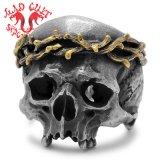 MAD CULT / マッドカルト Jesus Skull Head � / ジーザススカルヘッド 2 リング R-61