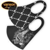 新作 VANSON / バンソン ポリウレタンマスク 2柄セット NVFG-2101