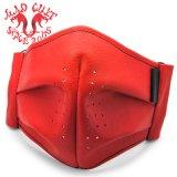 MAD CULT / マッドカルト MC Leather Mask-BR / MCレザーマスク-BR レッド LO-10