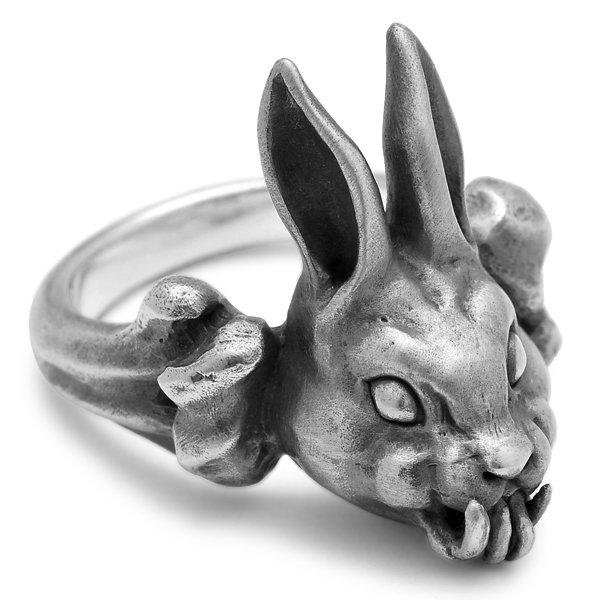 MAD CULT / マッドカルト Evil Rabbit-R M / イーヴィルラビット リング M R-65