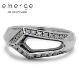 emerge / エマージュ ソードティップリング キュービックジルコニア SeR-36