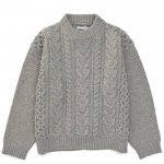 BIG CABLE KNIT / GRYGE