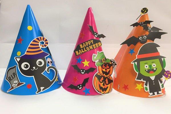 ハロウィン三角帽子