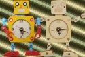 ロボット木時計工作