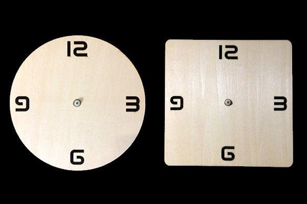 シンプル木製時計キット
