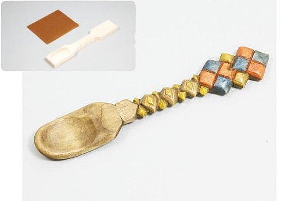 手作り木のスプーン