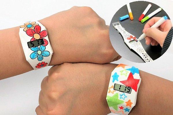 ペイント腕時計