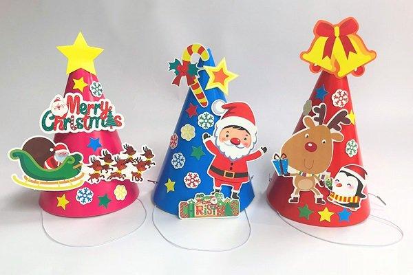 クリスマス三角帽子