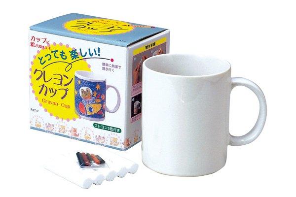 クレヨンマグカップ工作キット(陶器)