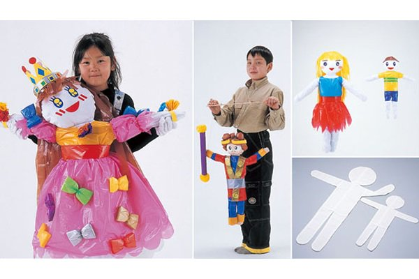 布の人形作り