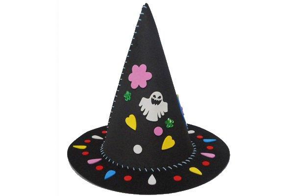 ハロウィンの帽子クラフト