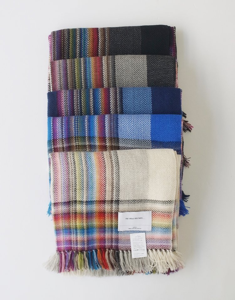 THE INOUE BROTHERS... Multi Coloured Scarf