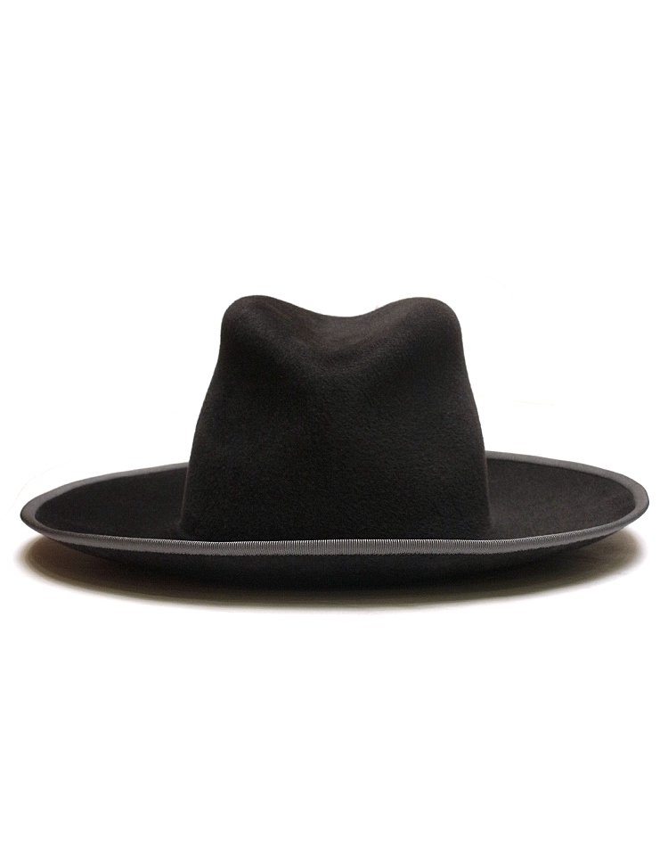 KIJIMA TAKAYUKI / HIGH LINE Rabbit Hair Felt Wide Brim Hat / No.S-172802