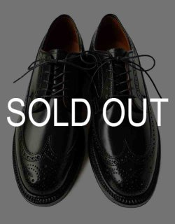 #9751 / Black Cordovan Long Wing Tip - Barrie Last