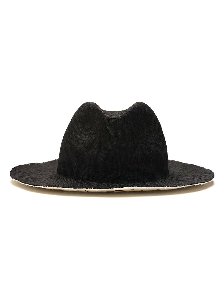 KIJIMA TAKAYUKI / HIGH LINE Hand Stitch W-Sisal Straw Hat / No. S-181206