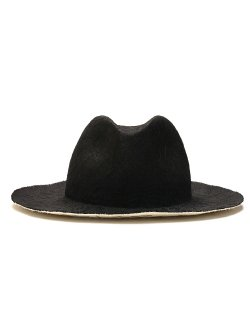 Hand Stitch W-Sisal Straw Hat / No. S-181206