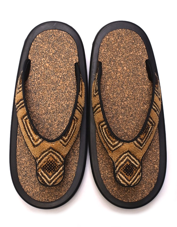 JoJo JOJO BEACH SANDAL - African Textile / M
