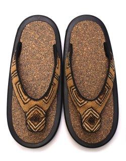 JOJO BEACH SANDAL - African Textile / M