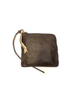 Zip pouch - black tea / V-ZIP POUCH-CV-BI-CCCIII