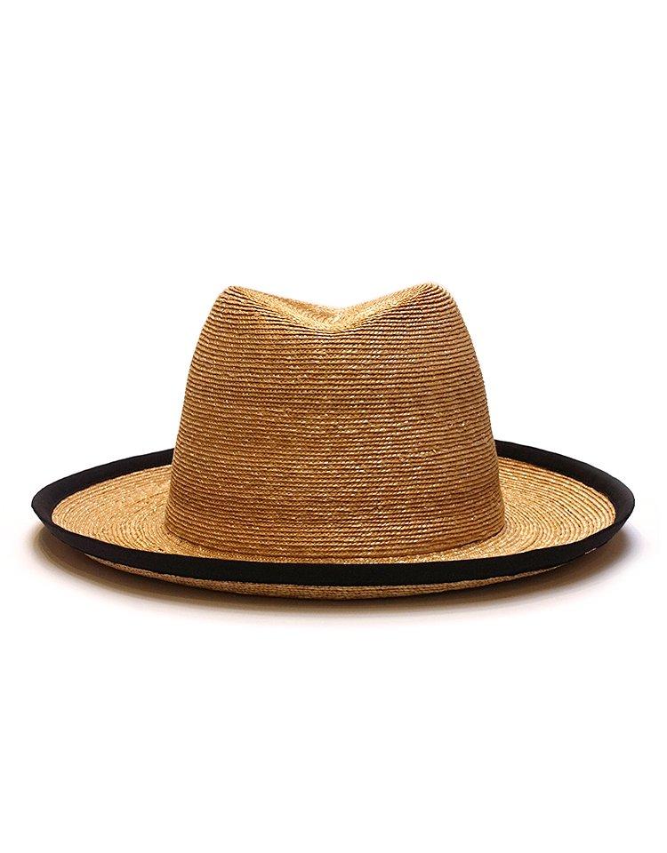 KIJIMA TAKAYUKI / HIGH LINE Straw  Piping Brim Hat / No. S-191204